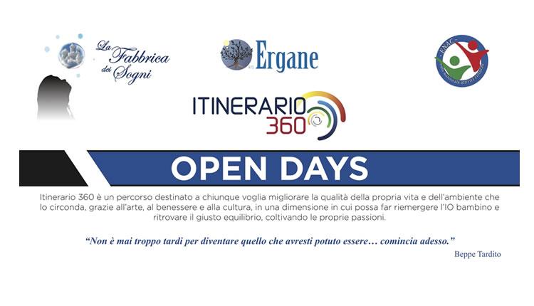 Open Days Itinerario 360