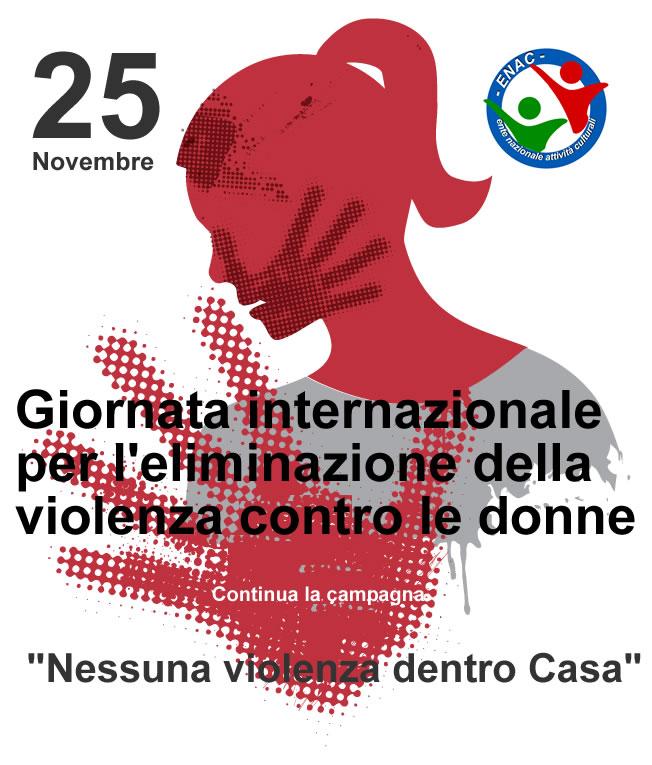 25 novembre – Giornata internazionale per l'eliminazione della violenza contro le donne