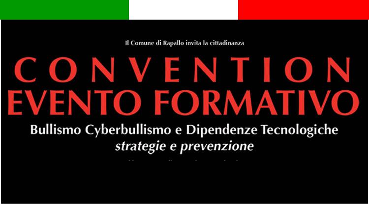 Convegno bullismo cyberbullismo e dipendenze tecnologiche
