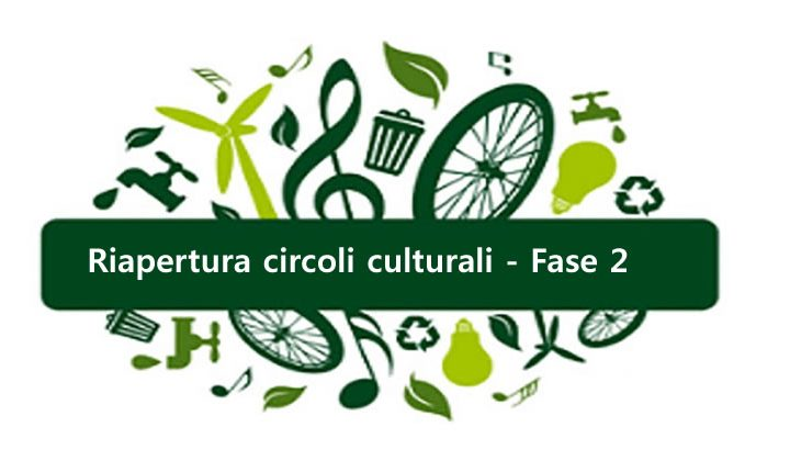Riapertura Circoli culturali, ricreativi e sportivi