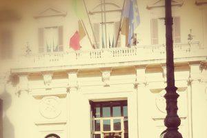 Manifestazione a Montecitorio in difesa della cultura